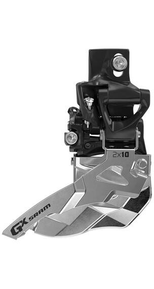 SRAM GX Umwerfer 2x10-fach Mid Direct Mount Bottom Pull schwarz